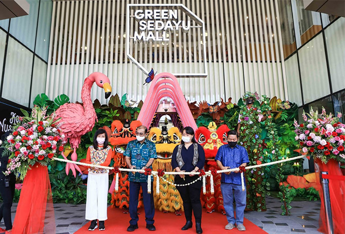 Agung Sedayu Group Resmikan Green Sedayu Mall
