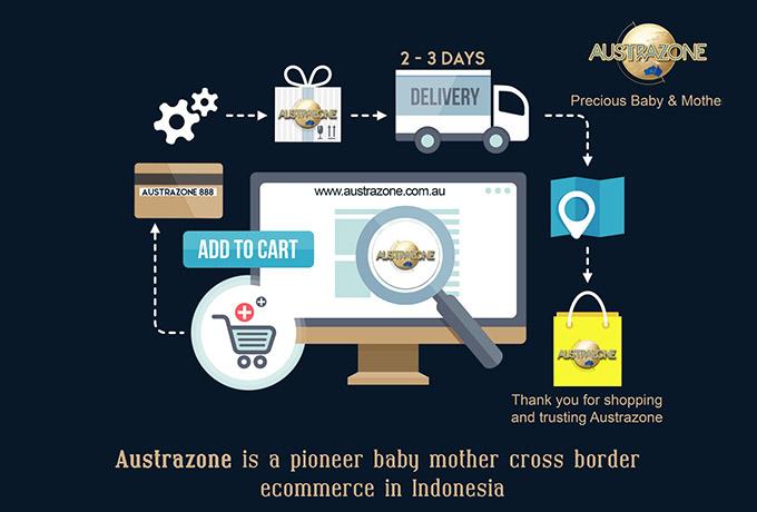 AUSTRAZONE; Hadirkan Kemudahan Berbelanja Produk Ibu dan Bayi Berkualitas Australia