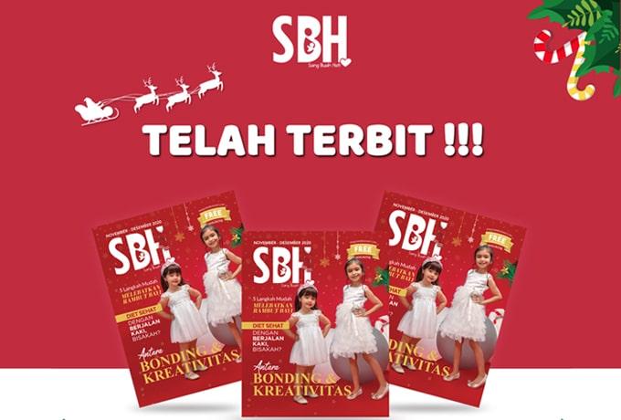 Telah Tebit! Majalah SBH Edisi Terbaru
