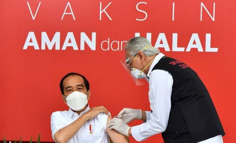 Presiden Jokowi Disuntik Vaksin Covid-19 Perdana, Ini Fakta Vaksin asal China